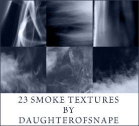 Smoke Textures by daughterofsnape