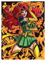 Sailor X - Phoenix by JRtheMonsterboy