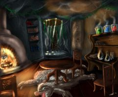 Wizards chamber by RileyDave