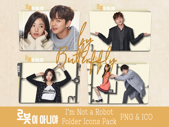 K-Drama I'm Not a Robot Folder Icons Pack by Butterffly