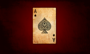 ace of spades. by hooki