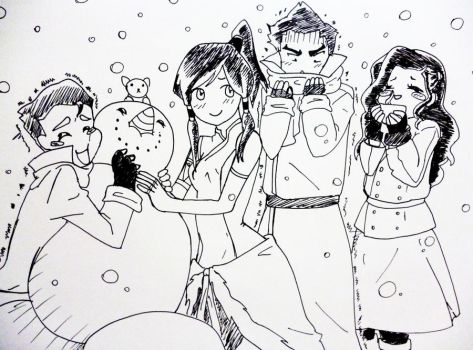 the new team avatar on snow? by AnaHingrid