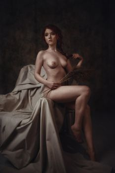 The naked lady by Lyumos