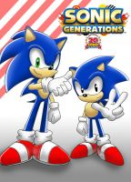 - Sonic Generations - by sonicwindartist
