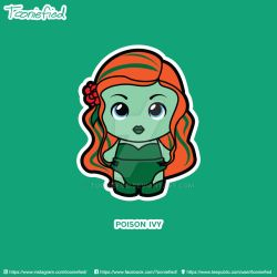 Poison Ivy by Tooniefied