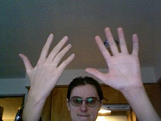 My hands by kalany