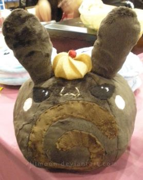 Chocolate Roll Cake Bunny Plush by LiLMoon