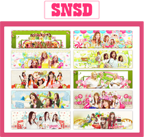 [140711] Mega Pack SNSD Happy 7th SNSD Anniversary by YinDao