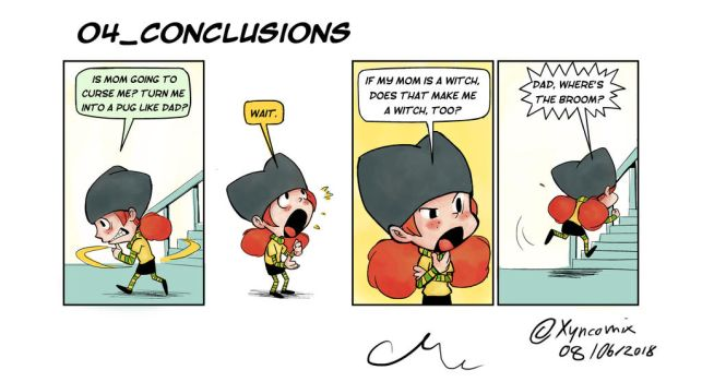 Alice Dee_Conclusions by Xyncomix