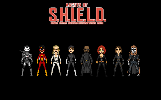 The Agents of S.H.I.E.L.D. by Jalil1m