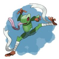 Frog Fakemon by TRspicy