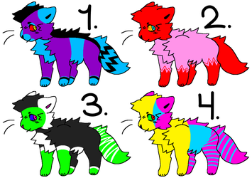 cat adopts! (1/4 OPEN) by 5431821983