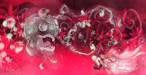 . monsterous stardust . by TheArta