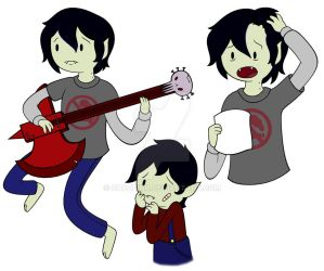 Marshall Lee by Shadeink