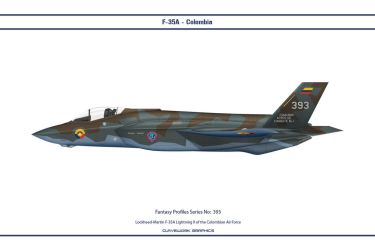 Fantasy 393 F-35A Colombia by WS-Clave