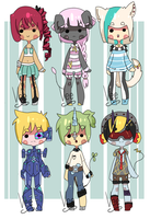 {Auction} Randommm Adopts Auction owo {1/7 Left!} by Veegal