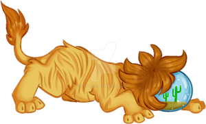 Bizarrble Lion [ SOLD ] by syrcaid