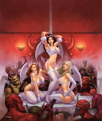 Angels at the Club Diablo by namesjames