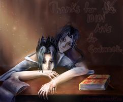 Sasuke+Itachi for GODMASK by Arnoldinya
