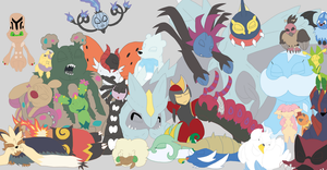 My Unova Favourites by PokeRouge