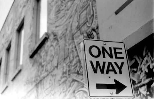 One Way by blindhole