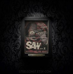 'Saw' 'NeverWere' Poster. by steelgohst