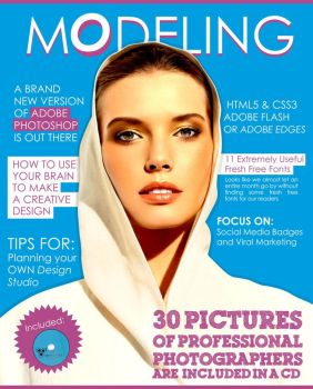 Modeling Magazine Cover by drnour