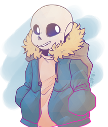 Just a Sans by SparklyPies