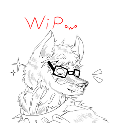Aj Wolf icon thing idk by somefreshmaymays