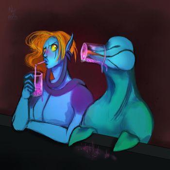 who SAID YOU TWO COULD DRINK by Nefepants