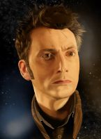 The 10th Doctor by Futurenoir