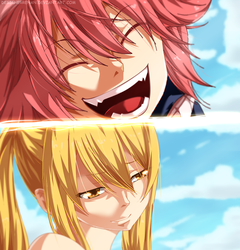 Fairy tail 418 - Natsu Back! by DesignerRenan