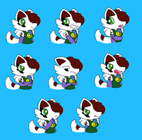 Expressions Of Marshmellow by SuperLuigi1025