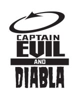Logo Captain Evil and Diabla by ljamal