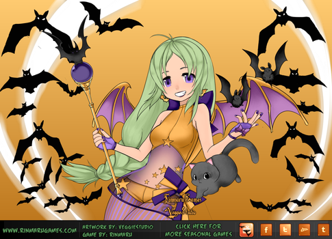 Mishi~Happy Late Halloween by Anime1Obsessed