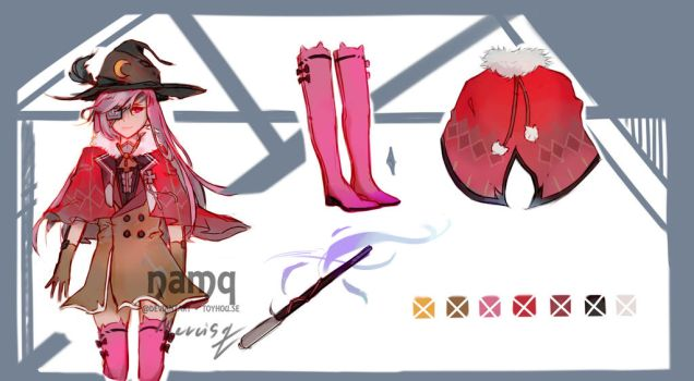 #3 OPEN Auction Witch Adopt by mercisq