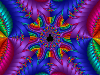 Newton Fractal Party by sparx222