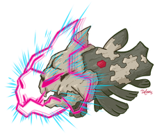 RELICANTH used SKULL BASH! by SuperEdco