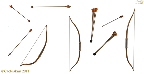 Assorted Bows and Arrows KL by cactuskim