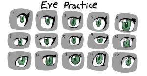 Eye Practice by fretless94