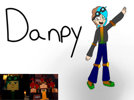 Danpy (Stampy + Dan Fusion) by BEA-Drowned
