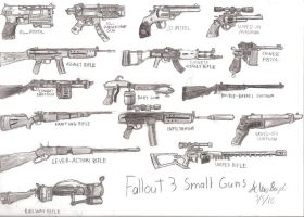 Fallout 3: Small Guns by Themastagamer9000