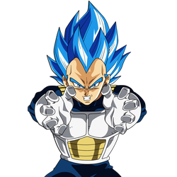 Vegeta Final Flash (New Form) by hirus4drawing