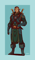 Paladin Luthuan by Blazbaros