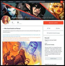 I'm on Patreon by grantgoboom