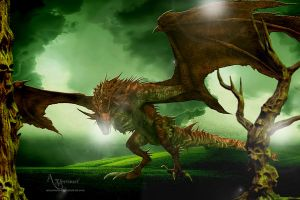 The bad dragon by annemaria48