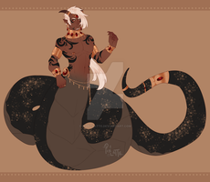 [AUCTION] King of Snakes (closed) by Pixel-Latte