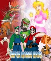 Super Mario Bros by Barsto