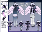 December Adopt - Nighttime Angel [hold] by hello-planet-chan