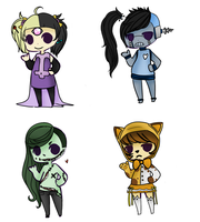 Halloween Adopts Auction Batch 2 (2/4 OPEN) by Ladyadorkable